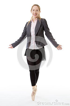 Free Business Ballerina Stock Photography - 69218292