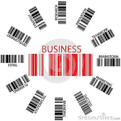 Business bar codes