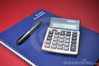 Business Books, Calculator, Expenses, Bookkeeping