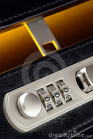 how to open suitcase lock without key