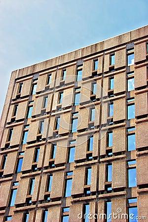 Business building facade