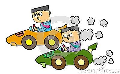 Business car race
