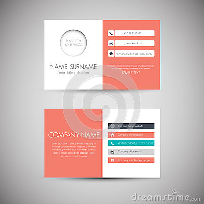 Free Business Card Royalty Free Stock Photography - 34625547