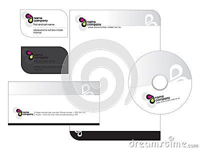 Business card - Letterhead template