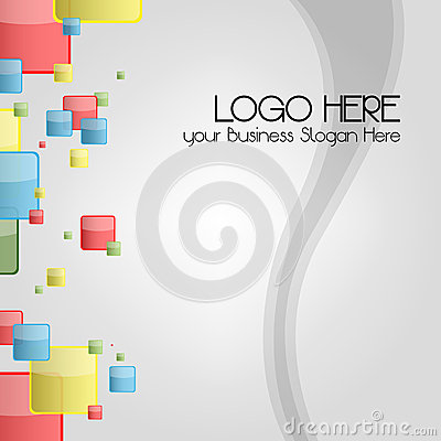 Business card or logo Background for stationary