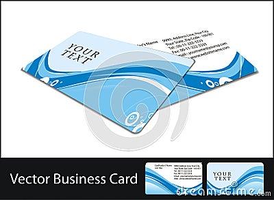 Business card set