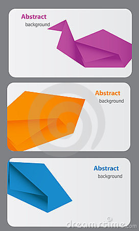 Business Card Template. Abstract background