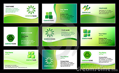 Business Card Template Design Vector Illustration CartoonDealer - Sample business cards templates