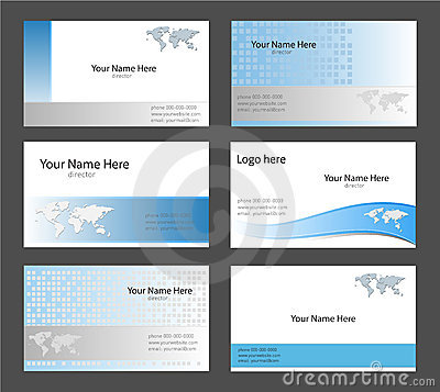 Free Business Card Templates Royalty Free Stock Photo - 11795515