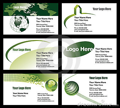 Free Business Card Templates Royalty Free Stock Image - 9029076