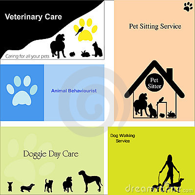 Business Cards for Dogs / Pets