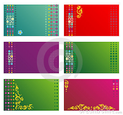 Free Business Cards, Gift Tags, Invitations, Etc. Templ Royalty Free Stock Image - 6093596