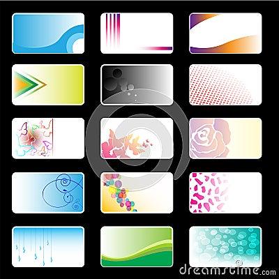 Business Cards Set