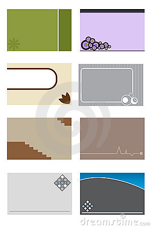Business cards template 2