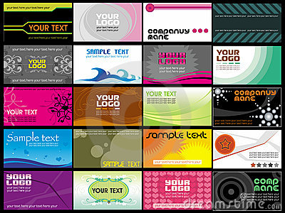 business cards templates 3