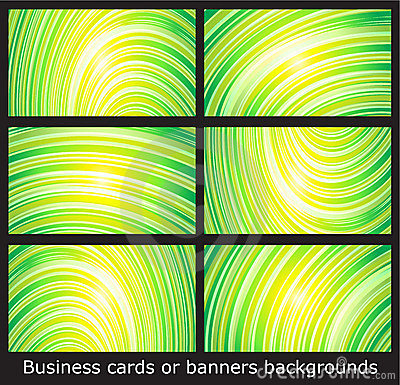 Business cards templates or banners backgrounds