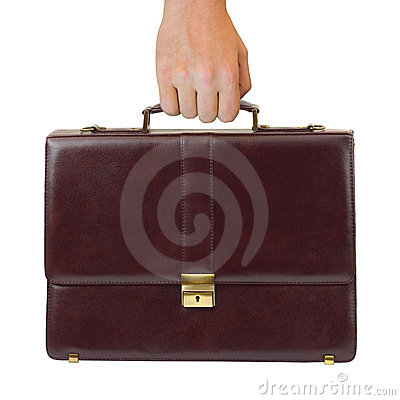 Free Business Case In Hand Royalty Free Stock Photos - 7161308
