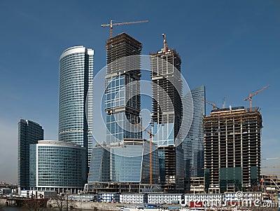 Business center building site