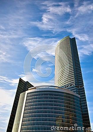 Business center buildings