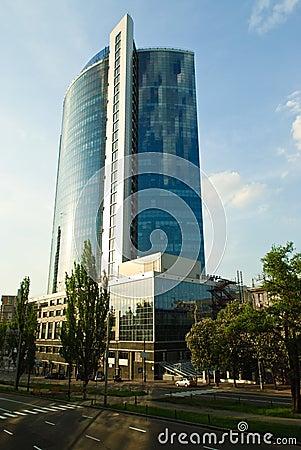 Free Business Centre In Kiev, Ukraine Royalty Free Stock Photos - 9769868