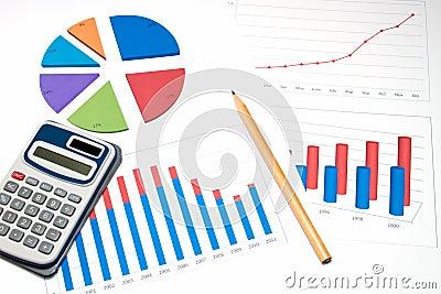 Business chart analyse
