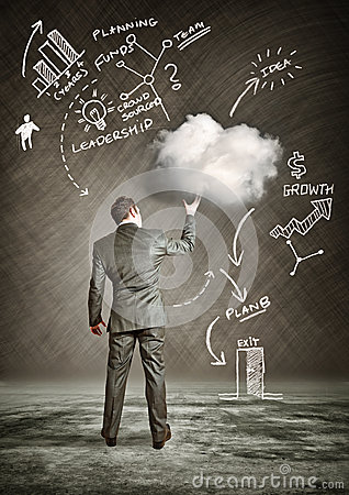 Free Business Cloud Stock Images - 30972564