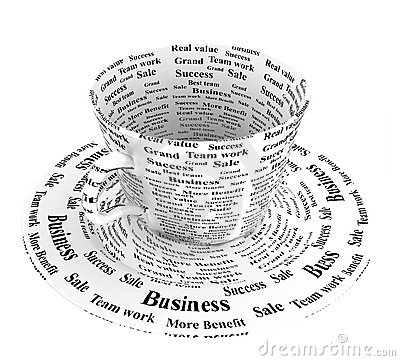 Business coffee cup