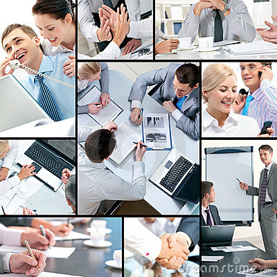 Free Business Collage Stock Photo - 18342050