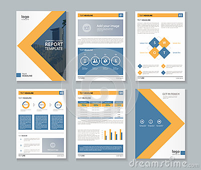 Business Company Profile Report And Brochure Layout Template – Company Business Profile
