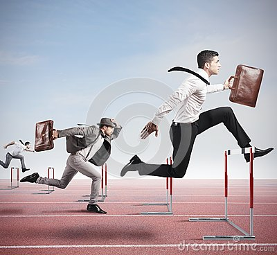 Free Business Competition Stock Image - 42826991