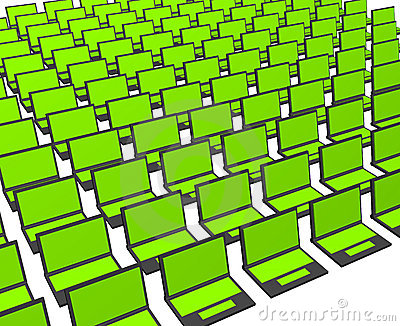 Business Computers Technology Abstract Background