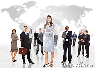 Business concept business woman