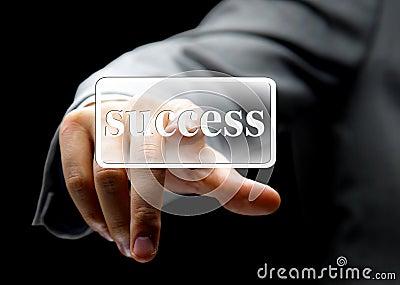Business concept button