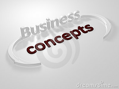 Business - Concepts - 3D Royalty Free Stock Photos - Image: 13721428