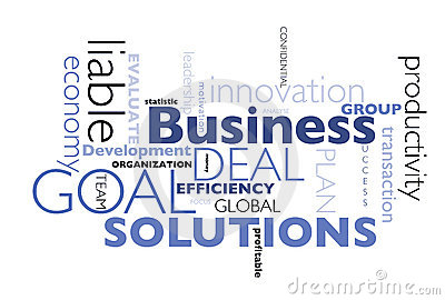 Business concepts poster