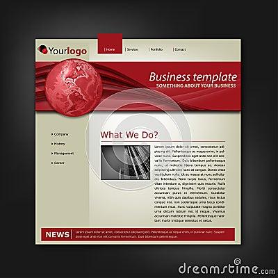 Business corporate web site template