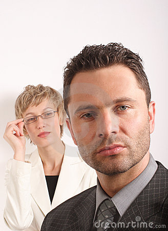 Free Business Couple Portrait Stock Image - 379711