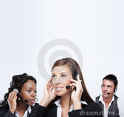 Business customer service representatives