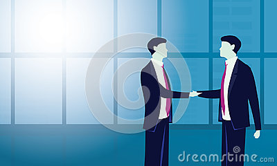 Business Deal Agreement Partnership Concept Vector Illustration