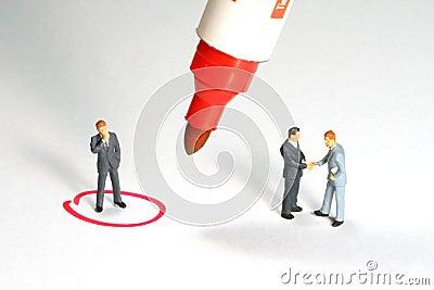 Business deal Metaphor