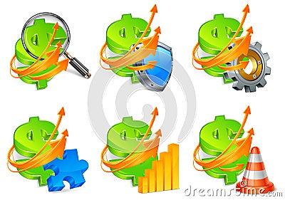 Business development icons