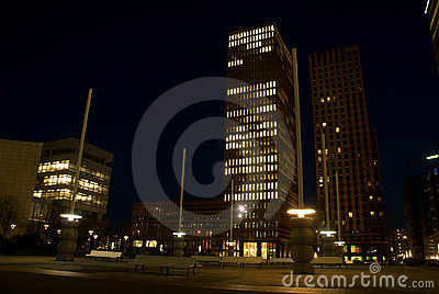 Business district, South Axis, Amsterdam