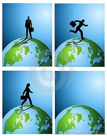 Business Earth Backgrounds