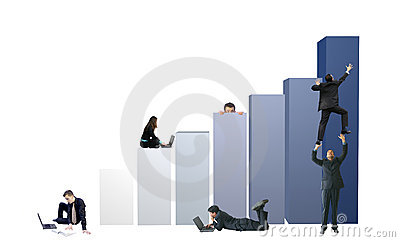 Business environment - teamwork graph  15mp