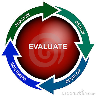 Business Evaluation Diagram - vector