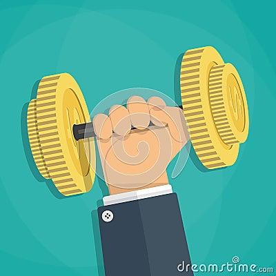 Free Business Executive Power Lifting Stock Photo - 67249140