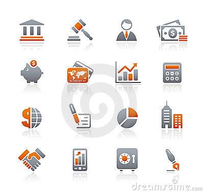 Free Business & Finance // Graphite Icons Series Stock Photography - 13245142