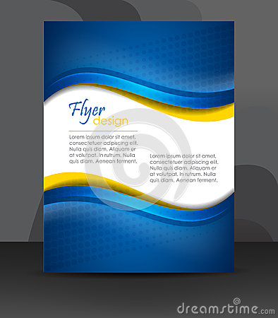 Free Business Flyer Template Or Corporate Banner, Cover Design, Brochure Stock Photos - 45830633