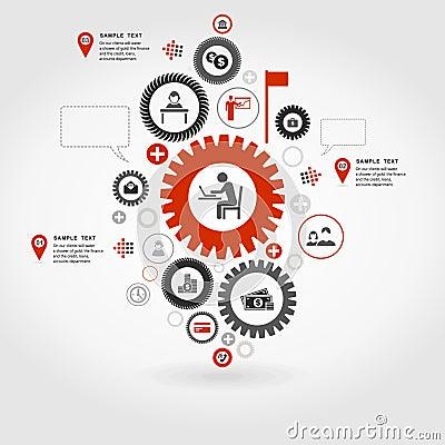 Business gear wheel