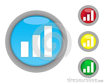 Business graph buttons